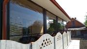 Прозрачные ролеты шторы от ветра и дождя для террасы и беседки