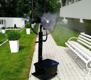 Переносной увлажнитель воздуха (вентилятор) туманообразование